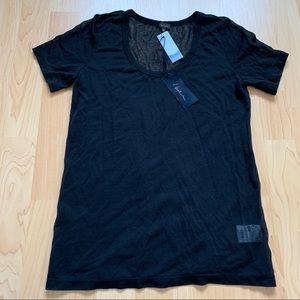 New Black Aritzia Babaton Tshirt